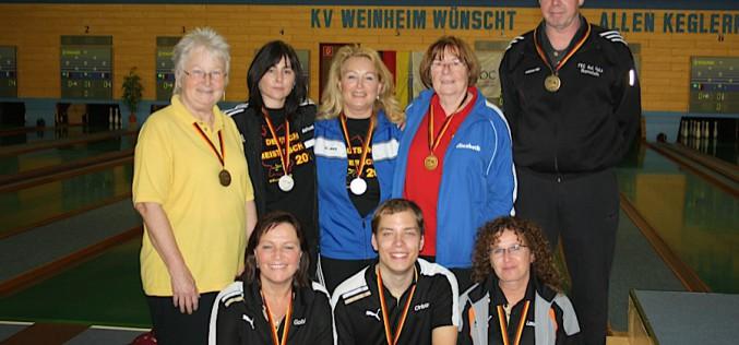 Frauen erkämpfen zwei Meistertitel