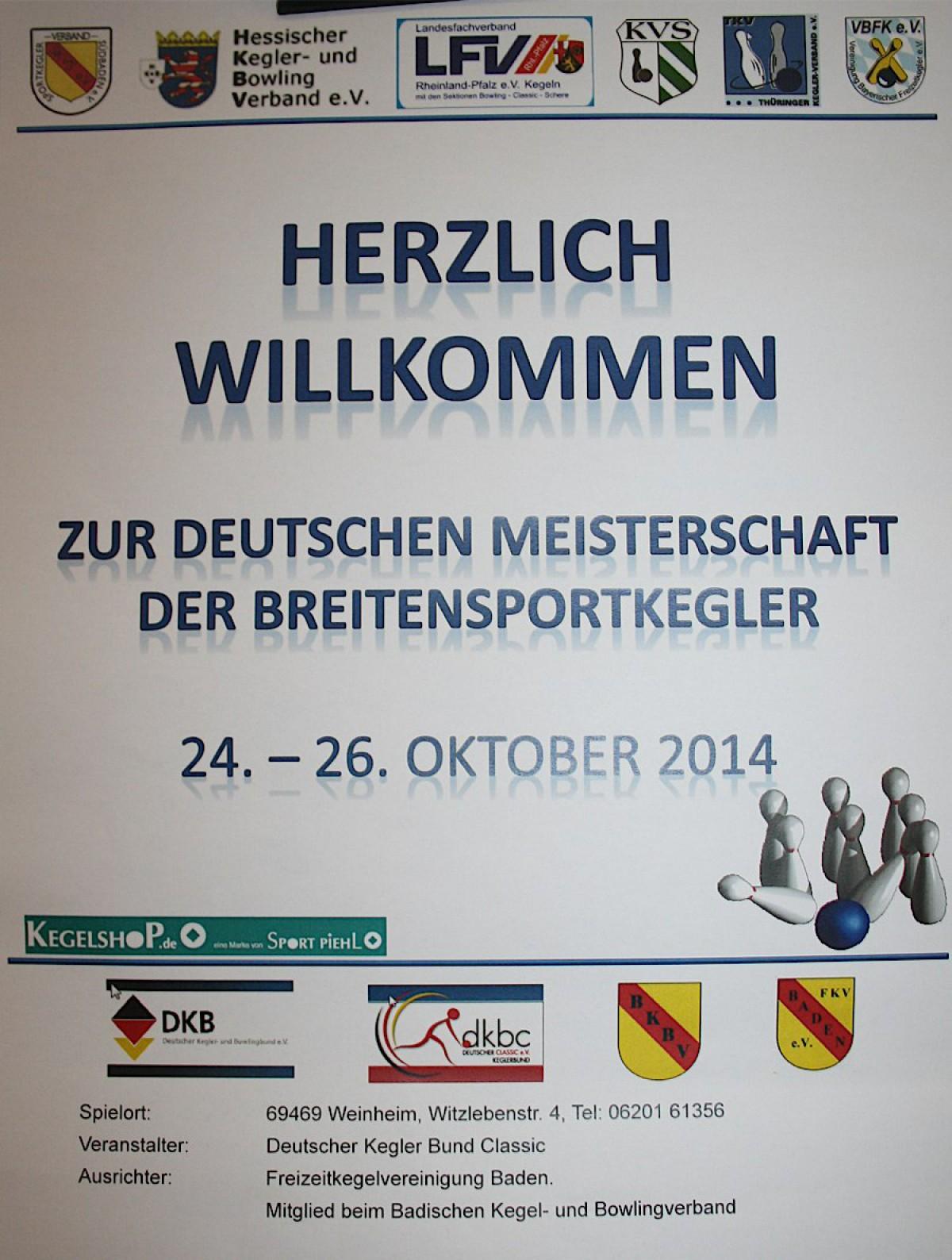 DM Weinheim 2014