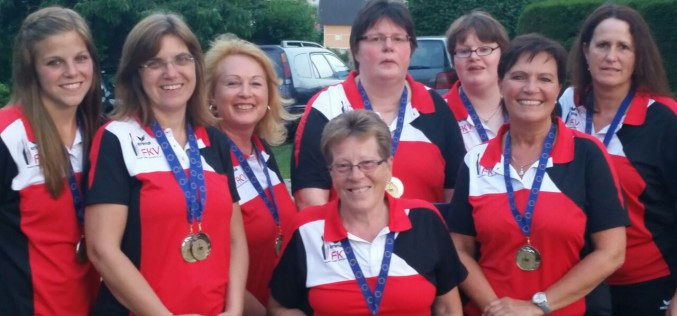 FKV-Damen werden Vize-Europameister – Bronze für Conny Scherdel im Einzel