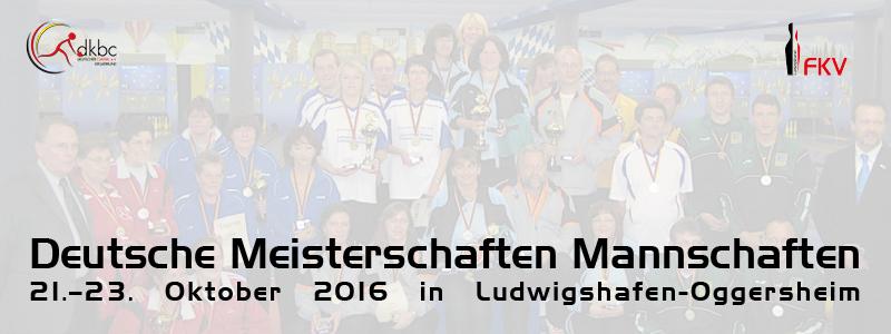 Deutsche Meisterschaften 2016 Oggersheim