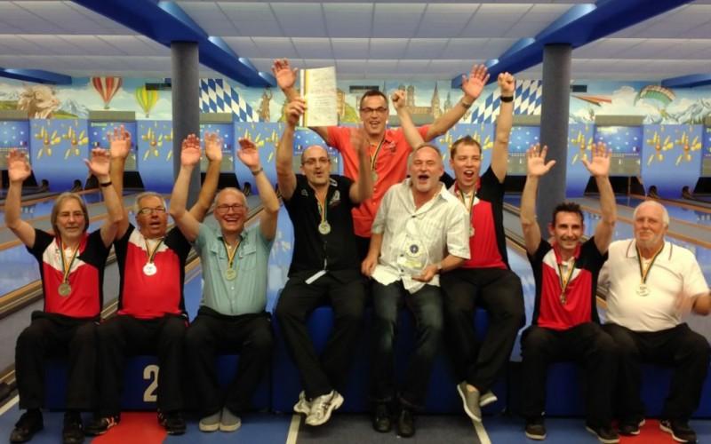 Diesmal die Männer: Vize-Europameister 2017