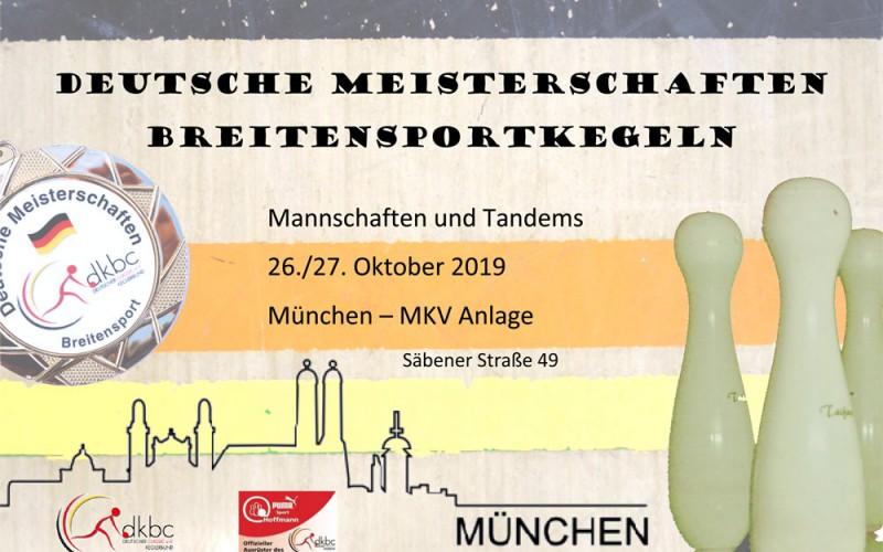 Auch DM München bringt FKV Lu einen Deutschen Meister und 2 Vizemeister